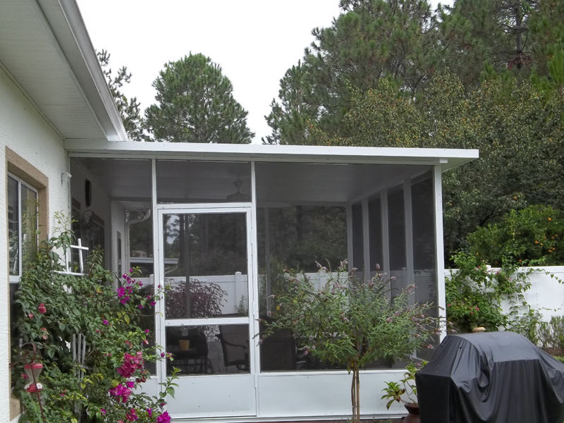 Sunroom Screen Enclosure