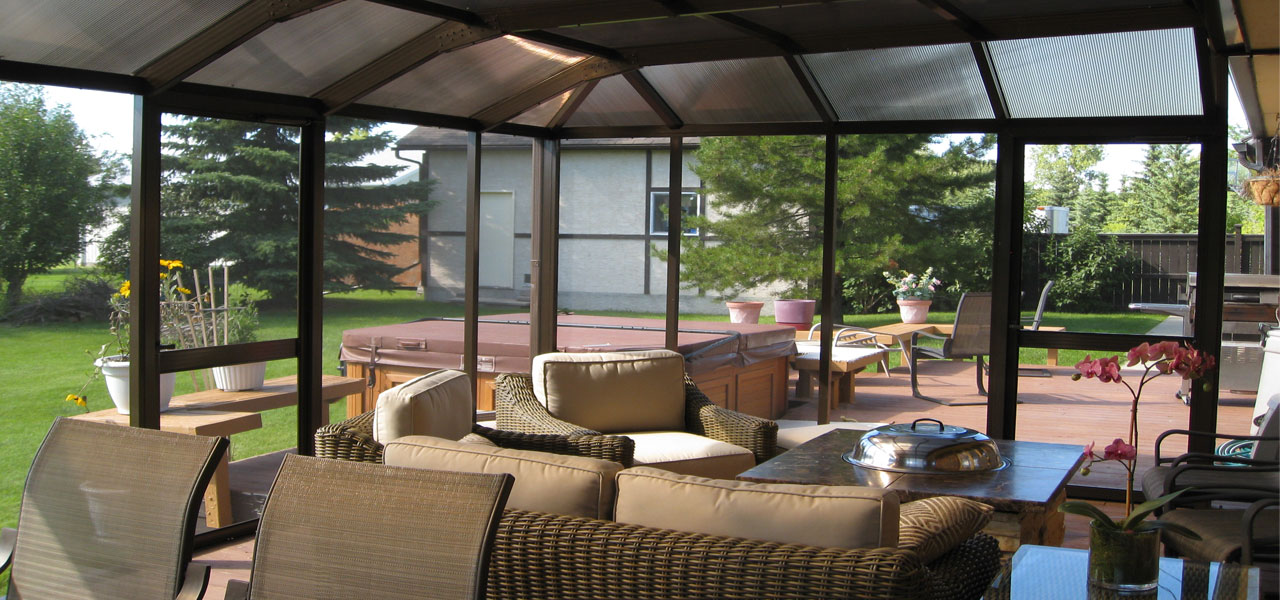 Enclosed Screen Patio